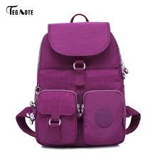 TEGAOTE School <b>Backpack</b> for Teenage Girls Mochila <b>Feminine</b> ...