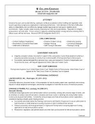 contract attorney resume sample  cv resume
