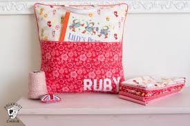 Pillow Sewing Patterns Enchanting How To Sew A Reading Pocket Pillow The Polka Dot Chair