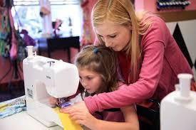 Girls Sewing Machines