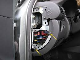 side and steering column trim removal b5 passat vw tdi forum open the driver s side door and pry off the fuse box cover at the end of the dashboard remove the 2x torx screws holding the side of the lower knee trim