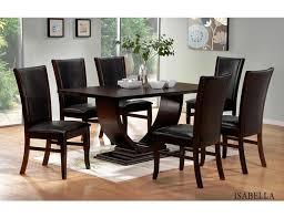 Isabella Modern Dining Room Set Impressive Designer Dining Room Sets
