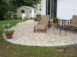 Brick Patterns For Patios Concrete Paver Patio Designs Installation Cost Great Ideas