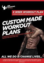 8 Week Custom Made Workout Plan