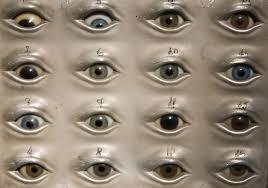 Eye Chart Eye Chart By German Anthropologist Dr Rudolf Ma