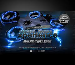 Electro House Party Flyer Experience