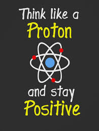 Science Quotes Stunning Think Like A Proton Showing An Entire Atom That's Also Incorrect