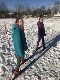 Cross-country skiing, snowshoeing at WES   Wiscasset Newspaper