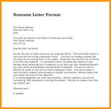 Proper Format Of A Letter Cover Letter Heading Example Letter Format Heading Proper Cover
