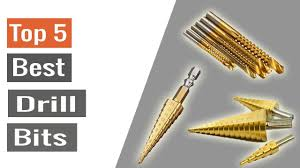 Top 5 Best Drill Bits - YouTube