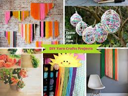 9 ways to make diy yarn crafts from your leftover yarn part 2