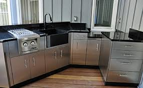 stainless steel outdoor kitchens steelkitchen with the most amazing outdoor kitchen cabinets stainless steel intended for existing home