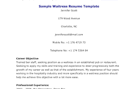 How To Make A Resume For A Restaurant Job How To Write Waitress Resume With Only Experience Cocktail Waiter 97