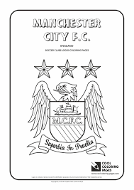 Small Picture Cool Coloring Pages Soccer Clubs Logos Manchester City FC