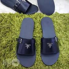 prada men s leather slippers in surulere shoes with okey jiji ng for in surulere shoes from with okey on