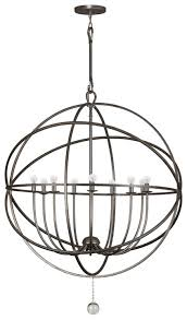 crystorama 9229 solaris extra large 9 light modern chandelier in 3 finishes loading zoom