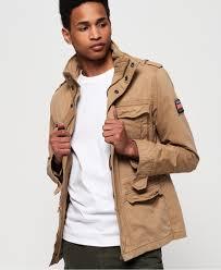 Superdry Jacket Size Chart Mens Classic Rookie Pocket Jacket In Desert Sand Superdry
