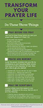 Three Powerful Strategies To Transform Your Prayer Life Third