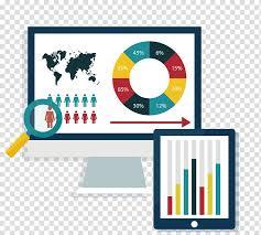 Bar Chart Computer Data Analysis Transparent Background Png