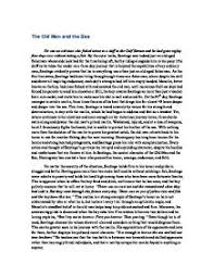 the old man and the sea essay in santiago the central character page 1 zoom in