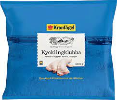 Kronfågel är sveriges marknadsledande kycklingproducent. Kycklingklubba 1 Kg Kyckling Fran Kronfagel