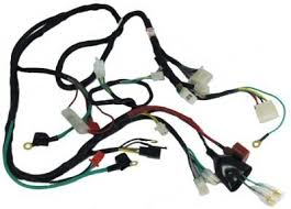 amazon com gy6 scooter wire harness sports scooter parts 50cc Scooter Wiring Harness amazon com gy6 scooter wire harness sports scooter parts sports & outdoors gy6 50cc scooter wiring harness