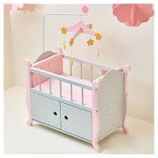 Olivia s Little World Baby Doll Furniture Nursery Crib Bed