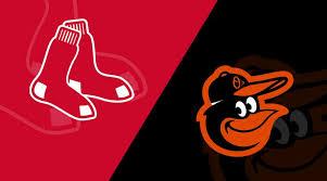 Baltimore Orioles Vs Boston Red Sox 4 13 19 Starting