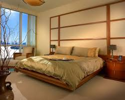... Endearing Bedroom Decoration With Various Sliding Bed Table :  Fascinating Oriental Bedroom Design And Decoration Using ...