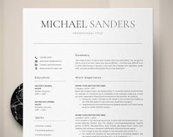 Curriculum Vitae Template Classic Resume Resume Templates Word Professional Simple Resume Format Traditional Resume Design Banking Cv