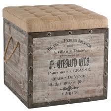 French Ottoman french wine crate ottoman 7694 by guidejewelry.us