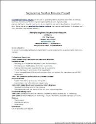 Resume For Freshers Mesmerizing Free Resume Sample For Freshers Co Fresher It Jobs Bpo Mmdadco