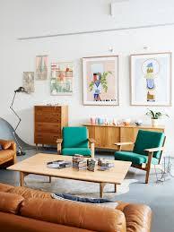 living room mid century modern furniture