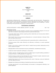 resume sample resume administrative assistant hospital best administrative  assistant resume example livecareer functional format - Resume