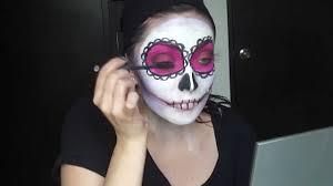 sugar skull makeup tutorial calavera de azúcar tutorial de maquillaje you