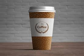 cly coffee cup mockup