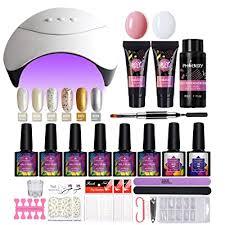 uv light gel nail polish set