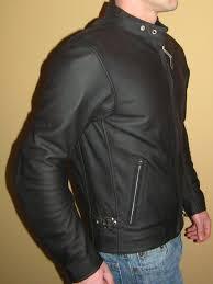 vintage cafe custom leather jacket