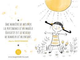 Citation Illustrée Du Jour 1 Le Bonheur Dun Enfant Maria