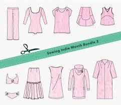 Indie Sewing Patterns Fascinating SIM Pattern Bundle Walkley Dress Paprika Patterns