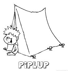 Piplup Naam Kleurplaten