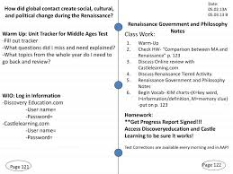 Middle Ages And Renaissance Comparison Chart Ppt Page 121 Powerpoint Presentation Free Download Id