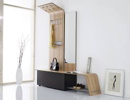 Image of: Modern Entryway Table and Mirror Ideas