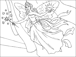 Superior Fairies To Color Evil Fairy Coloring Pages For Adults