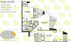 fontainebleau ii tresor floor plans double suites