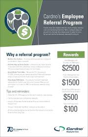 Referral Program Flyer Template Free Employee Ref