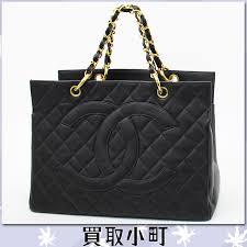 KAITORIKOMACHI | Rakuten Global Market: Chanel (CHANEL) CC mark ... & Chanel (CHANEL) CC mark quilting chain bag black caviar skin gold metal  fittings handbag Adamdwight.com