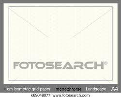 1 Cm A4 Isometric Grid Paper Isometric Grid Vector Isometric Grid Graph Clip Art
