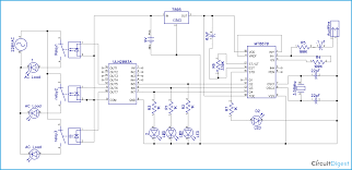 dtmf based home automation project circuit diagram dtmf based home automation circuit diagram