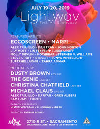 Sacramento Lighting And Sound Light Wav Tech Art Showcase